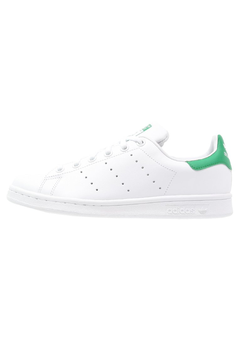 adidas Originals STAN SMITH - Sneakers laag - white/green ...