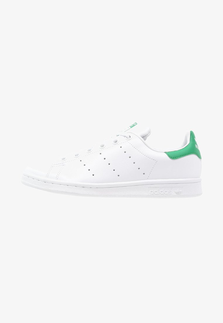 adidas Originals - STAN SMITH - Trainers - white/green