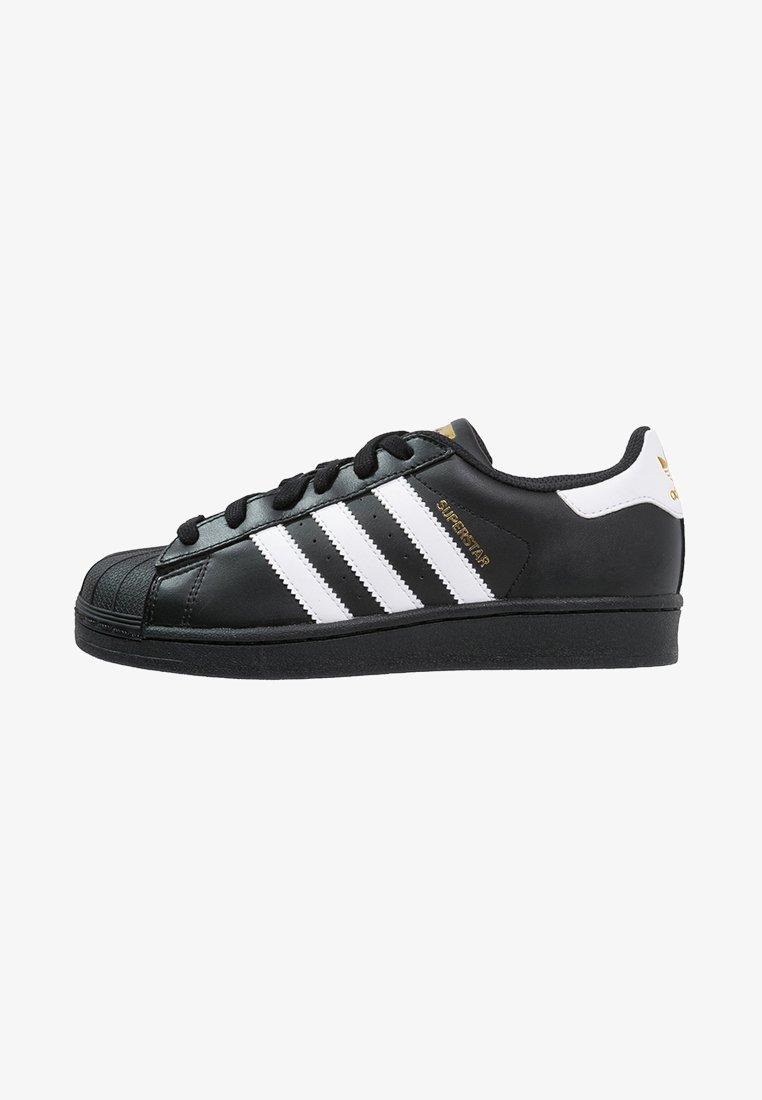 adidas Originals - SUPERSTAR FOUNDATION - Sneaker low - core black/white