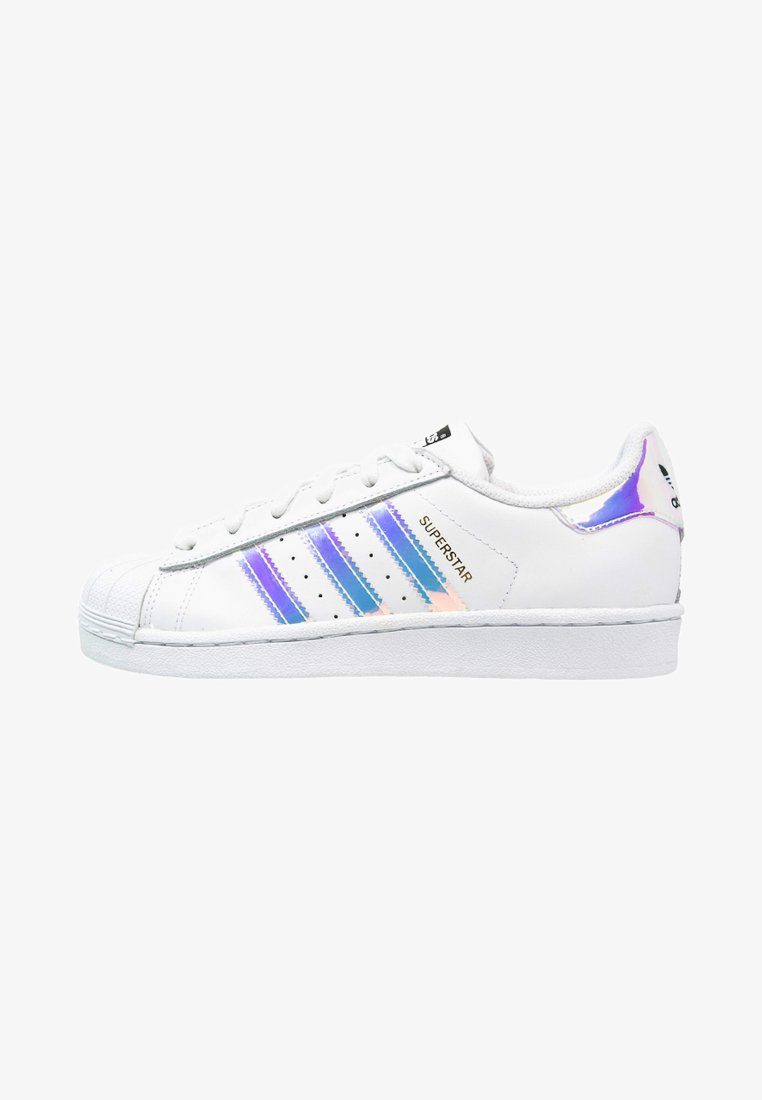 adidas Originals - SUPERSTAR - Sneaker low - white/metallic silver