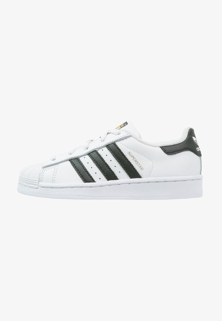 adidas Originals - SUPERSTAR FOUNDATION - Matalavartiset tennarit - white/core black
