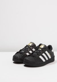 adidas Originals - SUPERSTAR FOUNDATION - Sneaker low - core black/footwear white/core black - 3