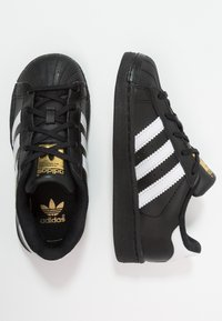 adidas Originals - SUPERSTAR FOUNDATION - Sneaker low - core black/footwear white/core black - 0