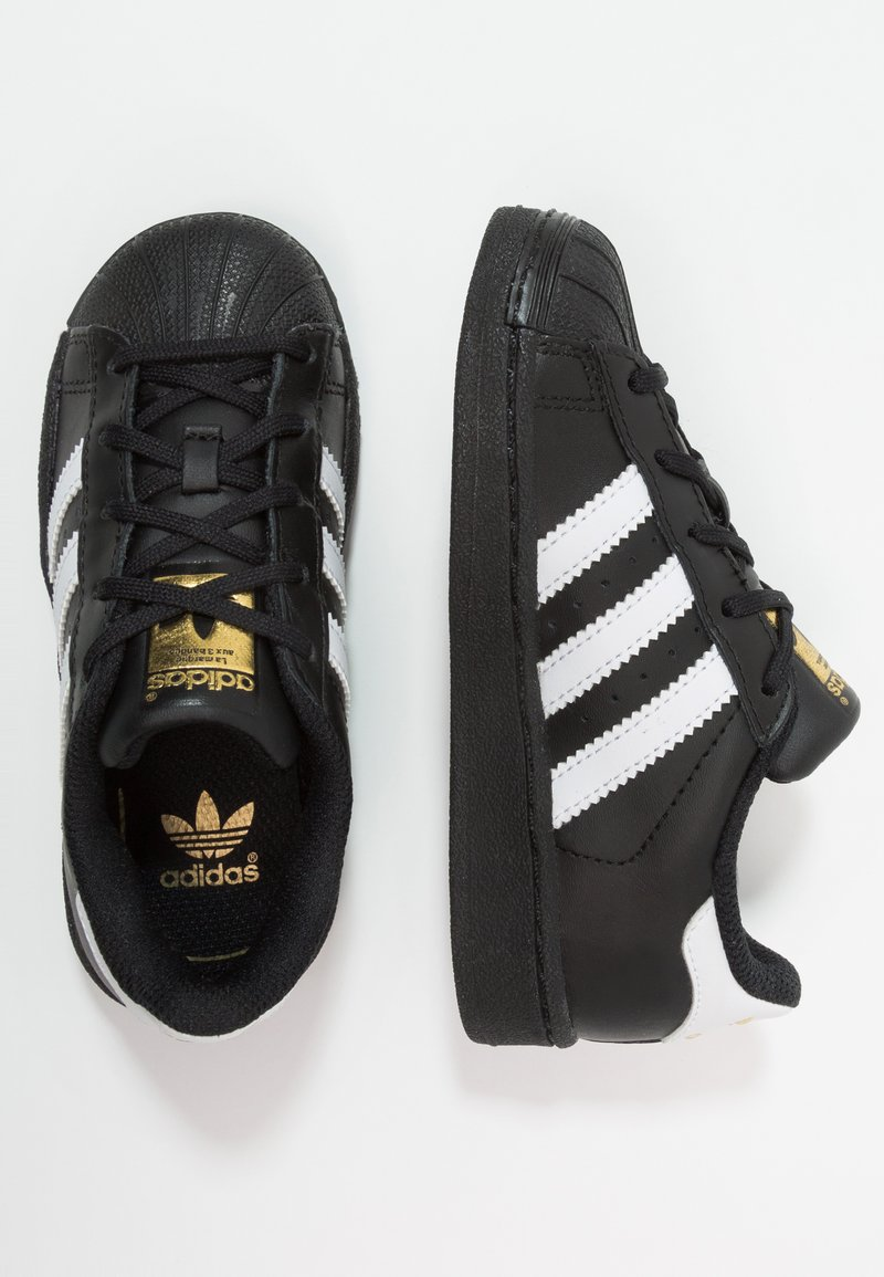 adidas Originals - SUPERSTAR FOUNDATION - Sneaker low - core black/footwear white/core black
