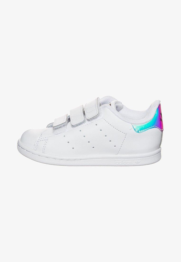 adidas Originals - STAN SMITH CF - Sneaker low - metallic silver/footwear white