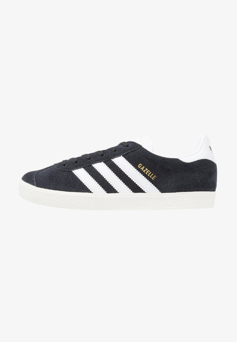 adidas Originals - GAZELLE  - Sneakers laag - core black/white/gold metallic