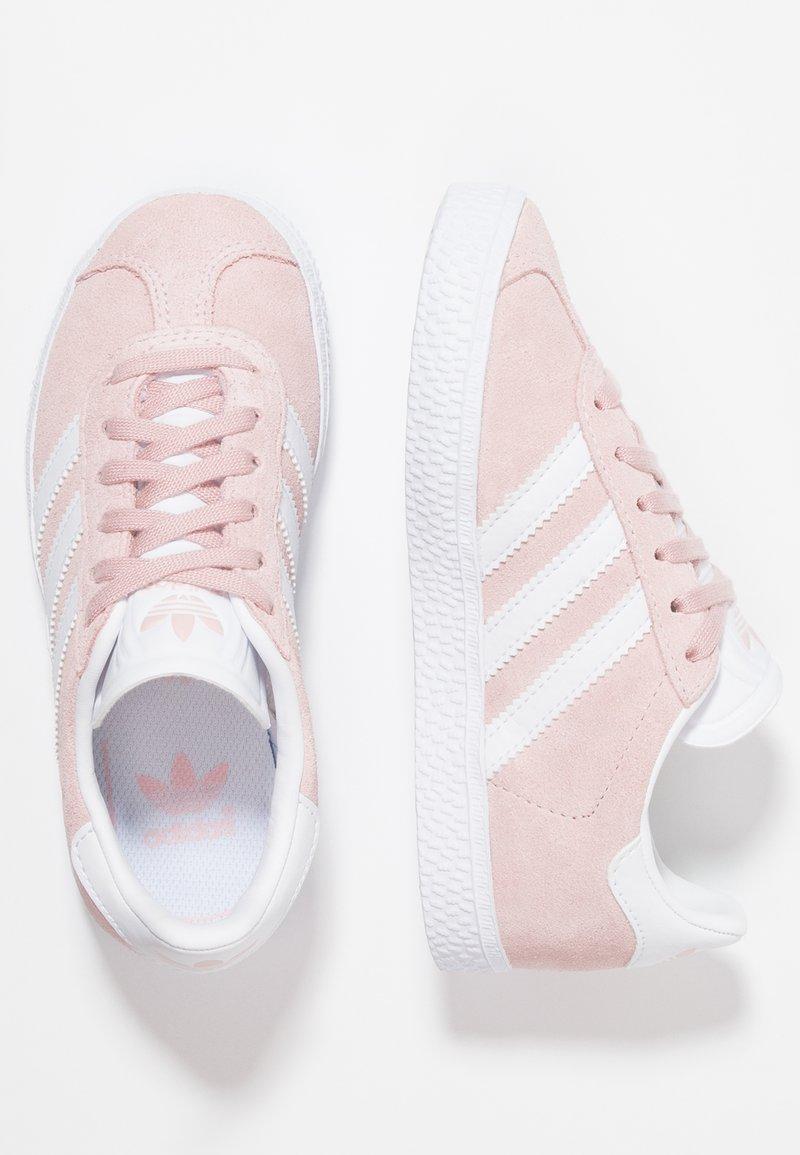adidas Originals - GAZELLE C - Trainers - icepink/footwear whitet/gold metallic