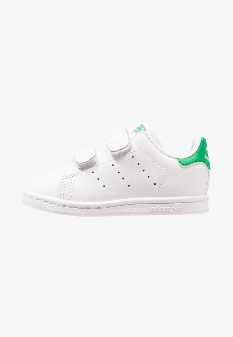 adidas Originals - STAN SMITH CF I - Obuwie do nauki chodzenia - white/green