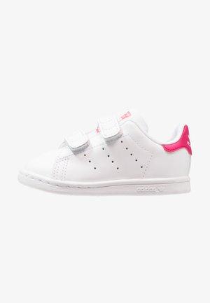 STAN SMITH CF I - Scarpe primi passi - white/bold pink
