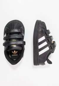 adidas Originals - SUPERSTAR CF  - Lauflernschuh - core black/footwear white - 1