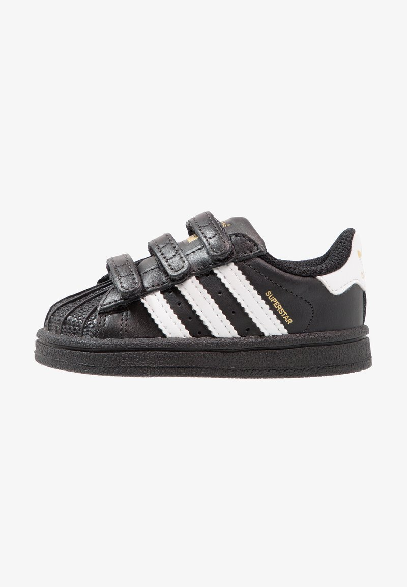 adidas Originals - SUPERSTAR CF  - Babyschoenen - core black/footwear white