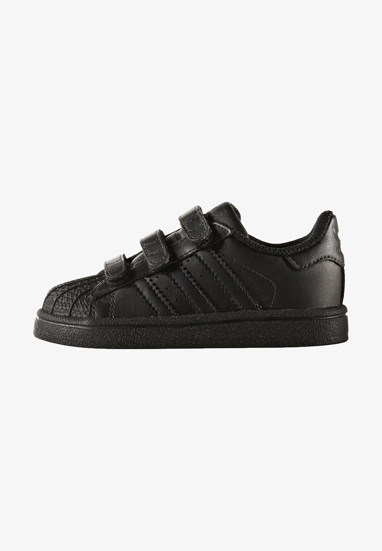 adidas Originals - SUPERSTAR CF  - Lauflernschuh - core black
