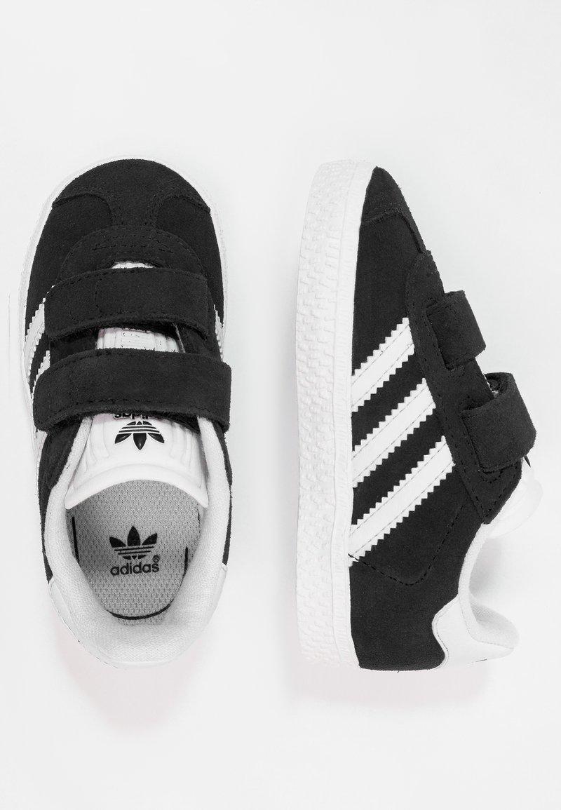 adidas Originals - GAZELLE - Trainers - core black/footwear white