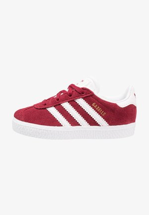 GAZELLE - Trainers - collegiate burgundy/footwear white