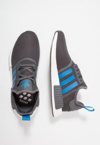 adidas Originals - NMD_R1 - Sneakers laag - grey five/bright blue - 0