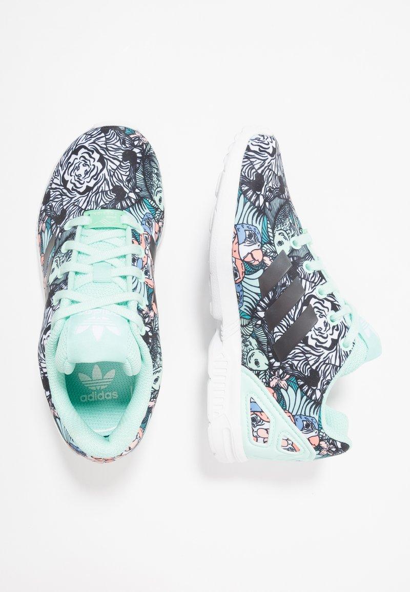 adidas Originals - ZX FLUX - Sneakers basse - clear mint/core black/footwear white
