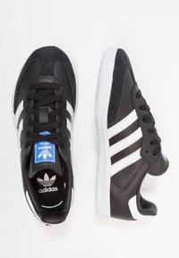 adidas Originals - SAMBA  - Trainers - core black/footwear white - 0