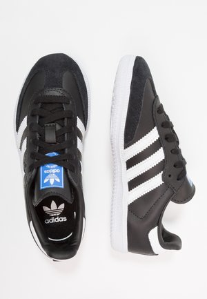 SAMBA  - Matalavartiset tennarit - core black/footwear white