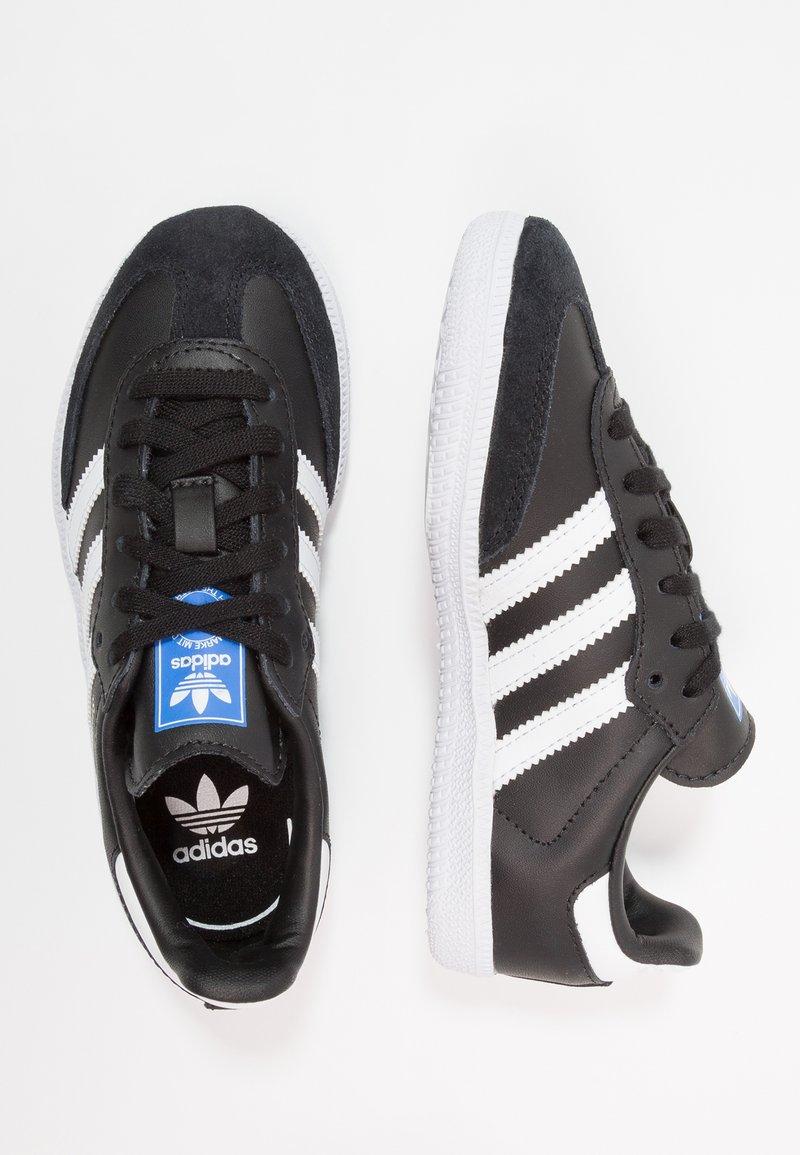 adidas Originals - SAMBA  - Trainers - core black/footwear white