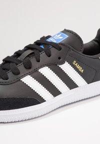 adidas Originals - SAMBA  - Trainers - core black/footwear white - 2