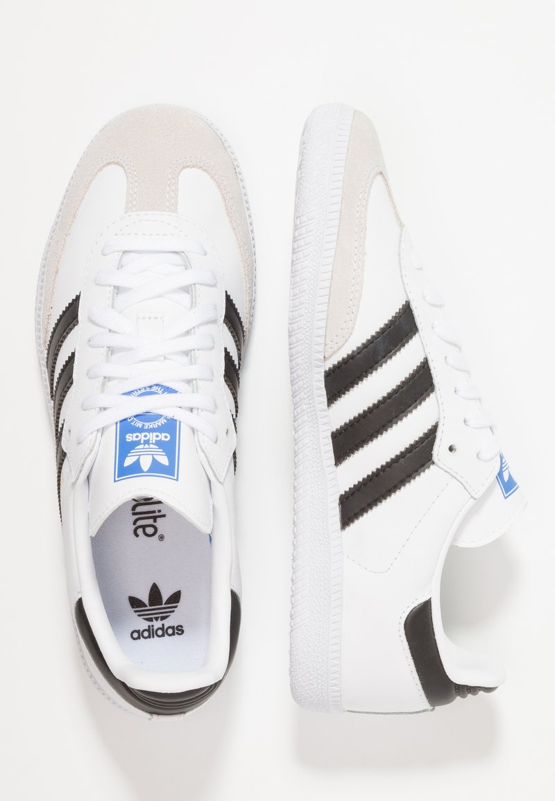 adidas Originals - SAMBA OG SHOES - Trainers - footwear white/core black/crystal white