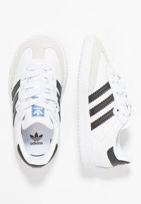 adidas Originals - SAMBA OG - Trainers - footwear white/core black/crystal white - 0