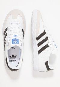 adidas Originals - SAMBA - Joggesko - footwear white/core black/crystal white - 0