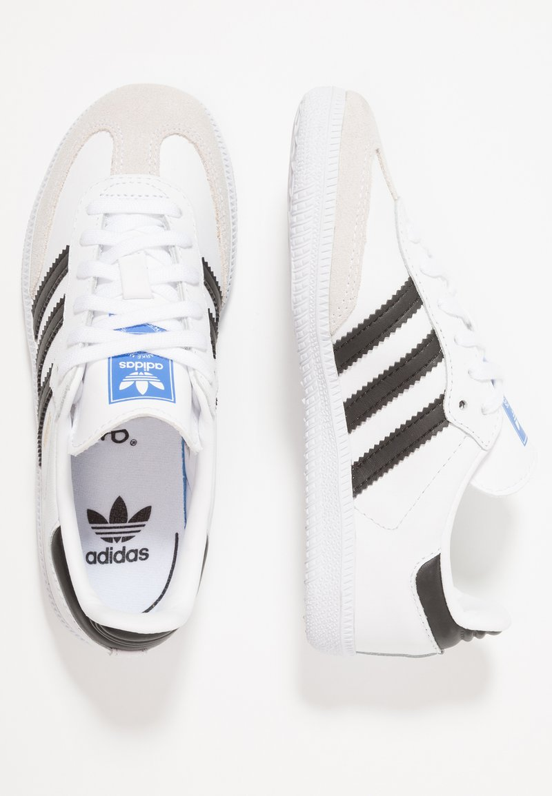adidas Originals - SAMBA - Sneaker low - footwear white/core black/crystal white