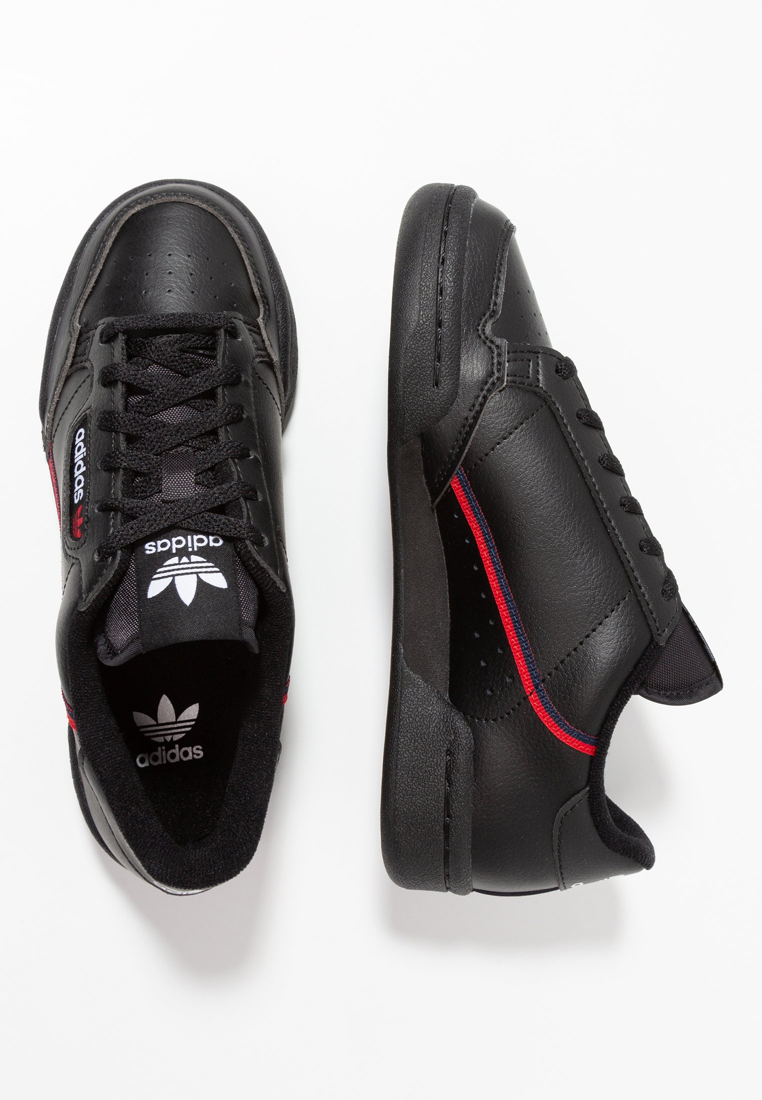 adidas Originals CONTINENTAL 80 - Sneaker low - black ...