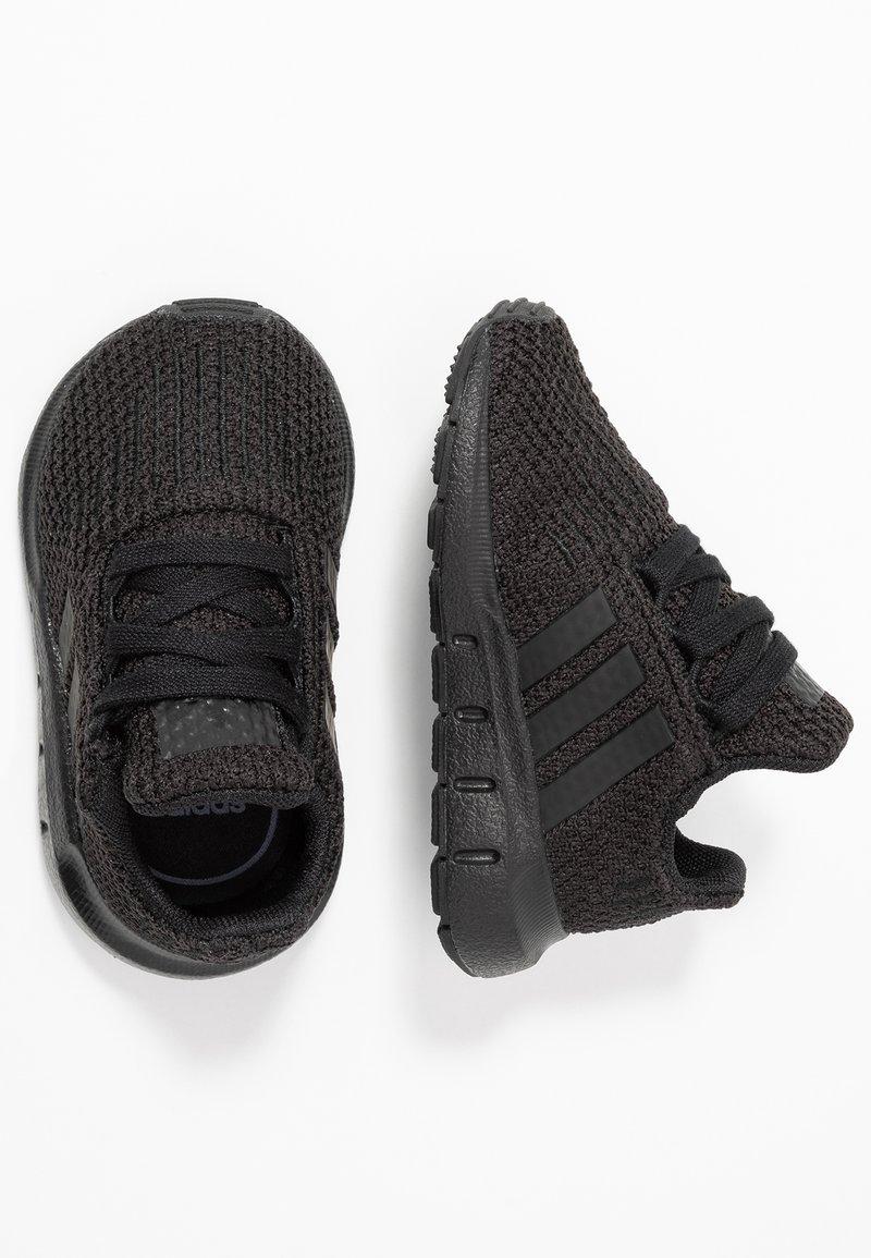 adidas Originals - SWIFT RUN - Lauflernschuh - core black