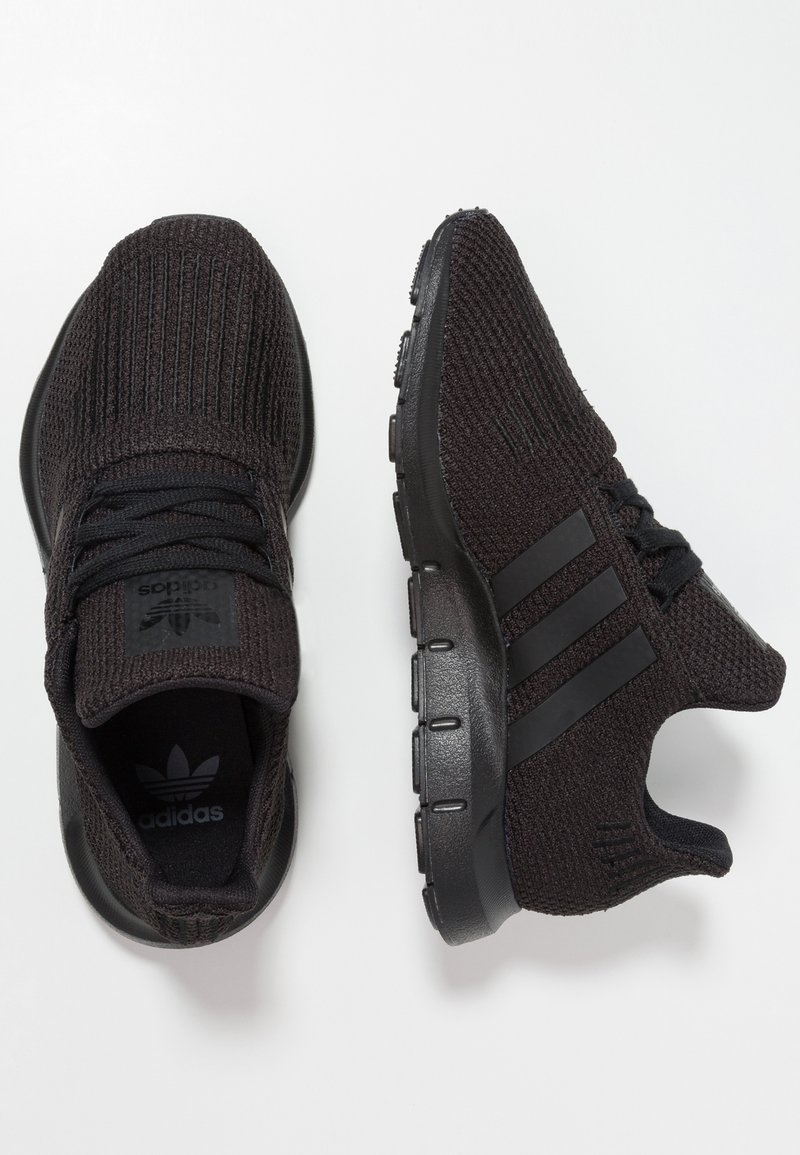 adidas Originals - SWIFT RUN - Sneakers laag - core black
