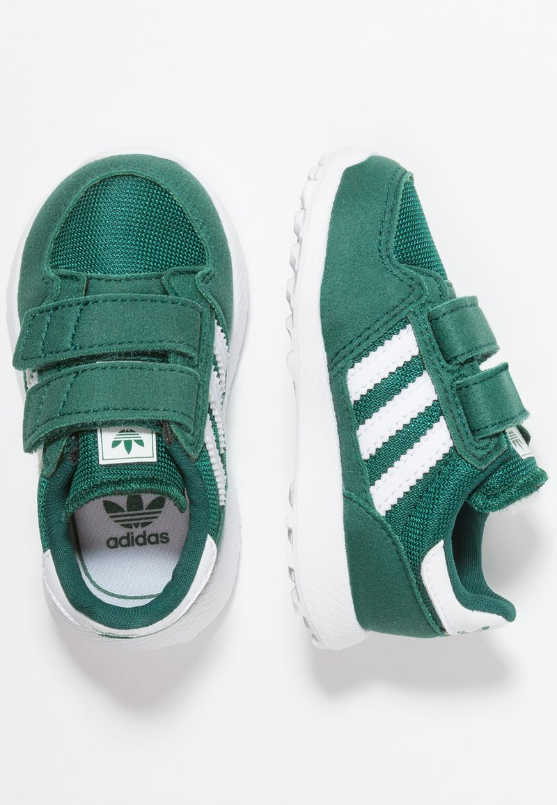 adidas Originals - FOREST GROVE - Sneakers laag - collegiate green/footwear white