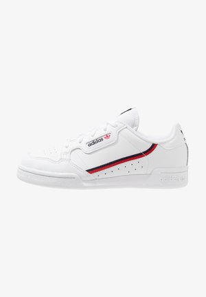 CONTINENTAL 80 - Sneaker low - footwear white/scarlet/collegiate navy