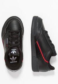 adidas Originals - CONTINENTAL 80 - Sneakers laag - core black/scarlet/collegiate navy - 0