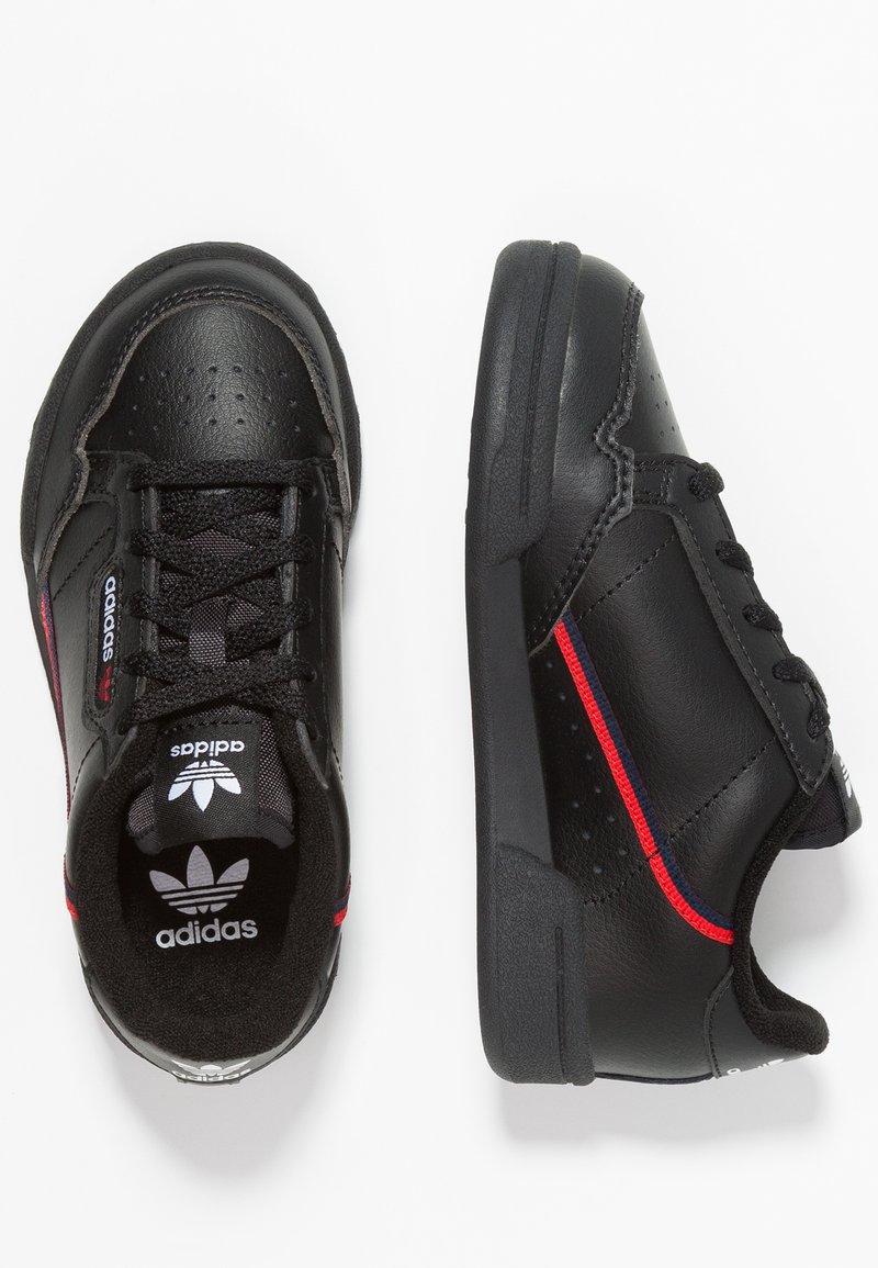 adidas Originals - CONTINENTAL 80 - Sneakers laag - core black/scarlet/collegiate navy