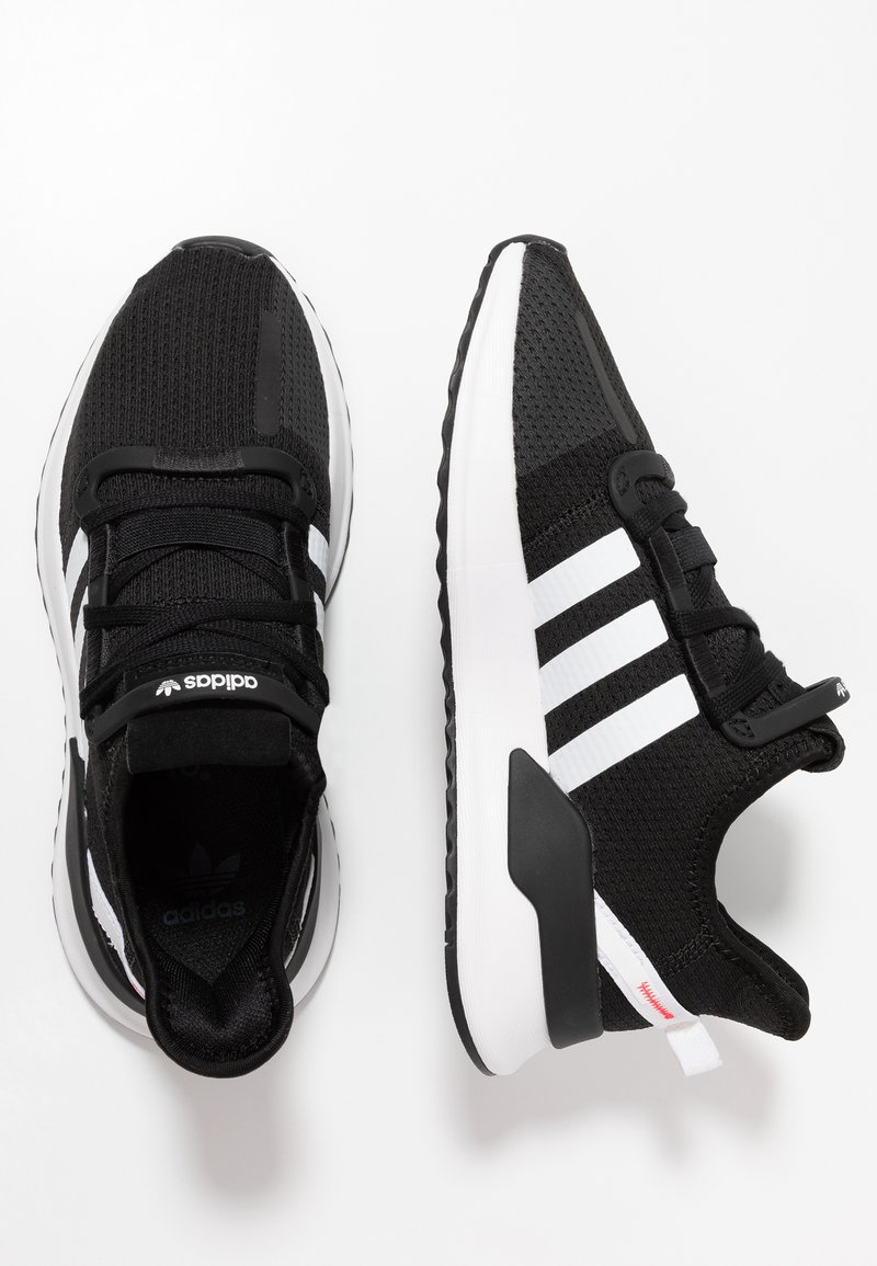 adidas Originals - U_PATH RUN - Sneakers - core black/footwear white/shock red