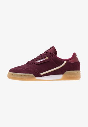 CONTINENTAL 80 - Sneakers laag - maroon/footwear white/gold metallic