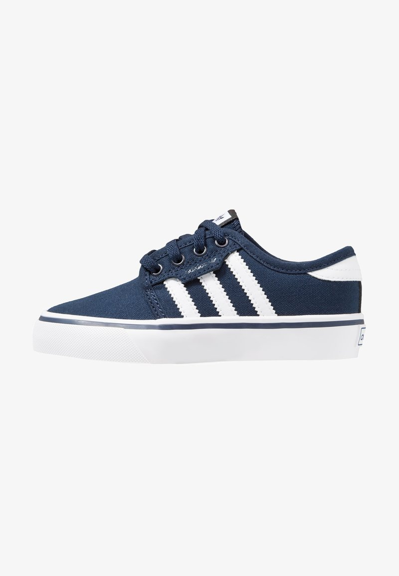 adidas Originals - SEELEY - Matalavartiset tennarit - collegiate navy/footwear white