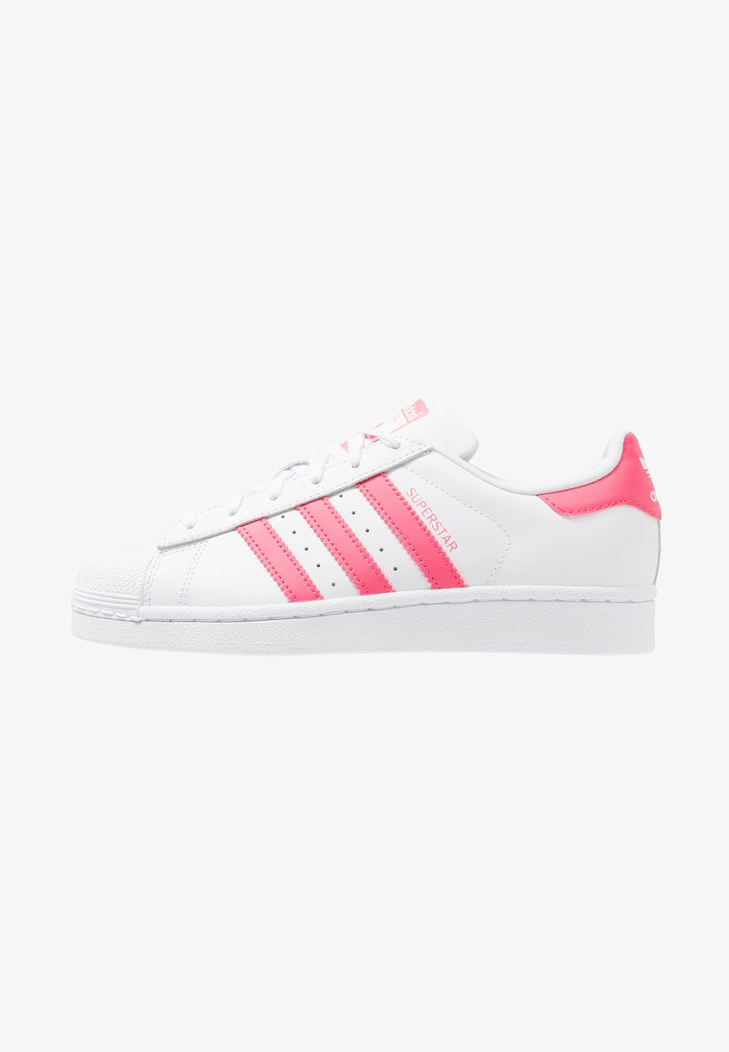 adidas Originals - SUPERSTAR - Tenisky - footwear white/real pink