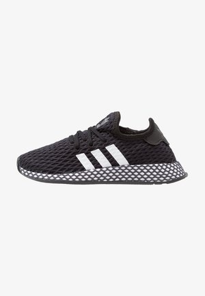 DEERUPT RUNNER - Sneakers basse - core black/footwear white/grey five
