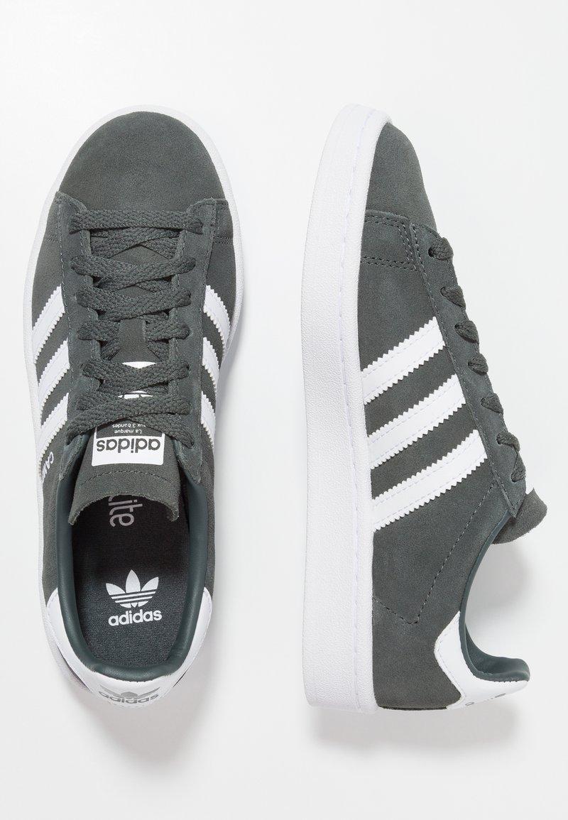 adidas Originals - CAMPUS - Baskets basses - legend ivy/footwear white