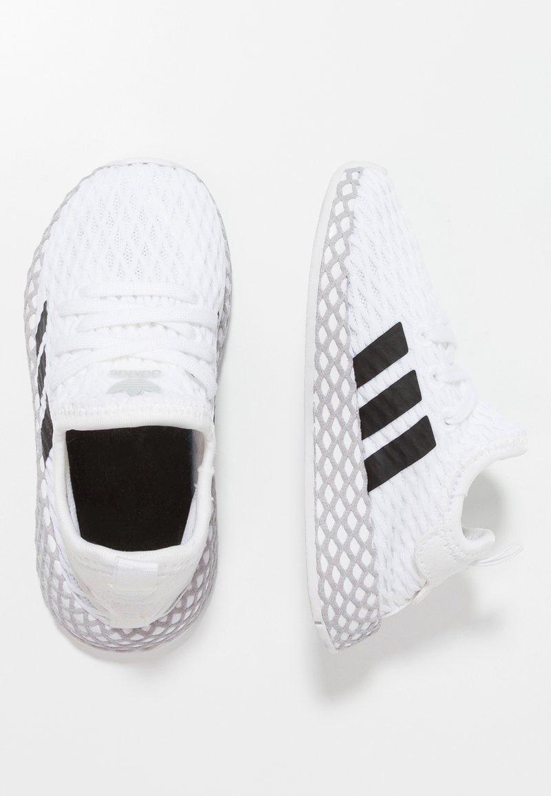 adidas Originals - DEERUPT RUNNER - Sneakers basse - footwear white/core black/grey two