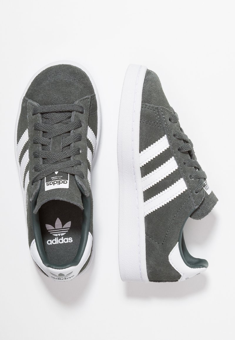 adidas Originals - CAMPUS - Matalavartiset tennarit - legend ivy/footwear white