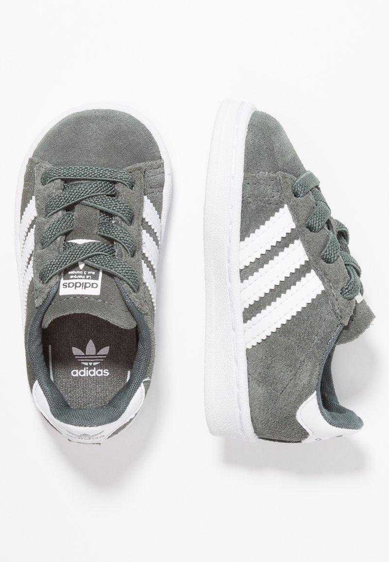 adidas Originals - CAMPUS - Zapatos de bebé - legend ivy/footwear white