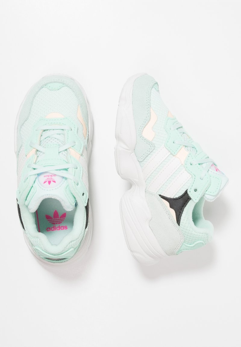 adidas Originals - YUNG-96 - Trainers - ice mint/clowd white/clear orange