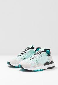 adidas Originals - NITE JOGGER - Baskets basses - ice mint/hi-res aqua - 3