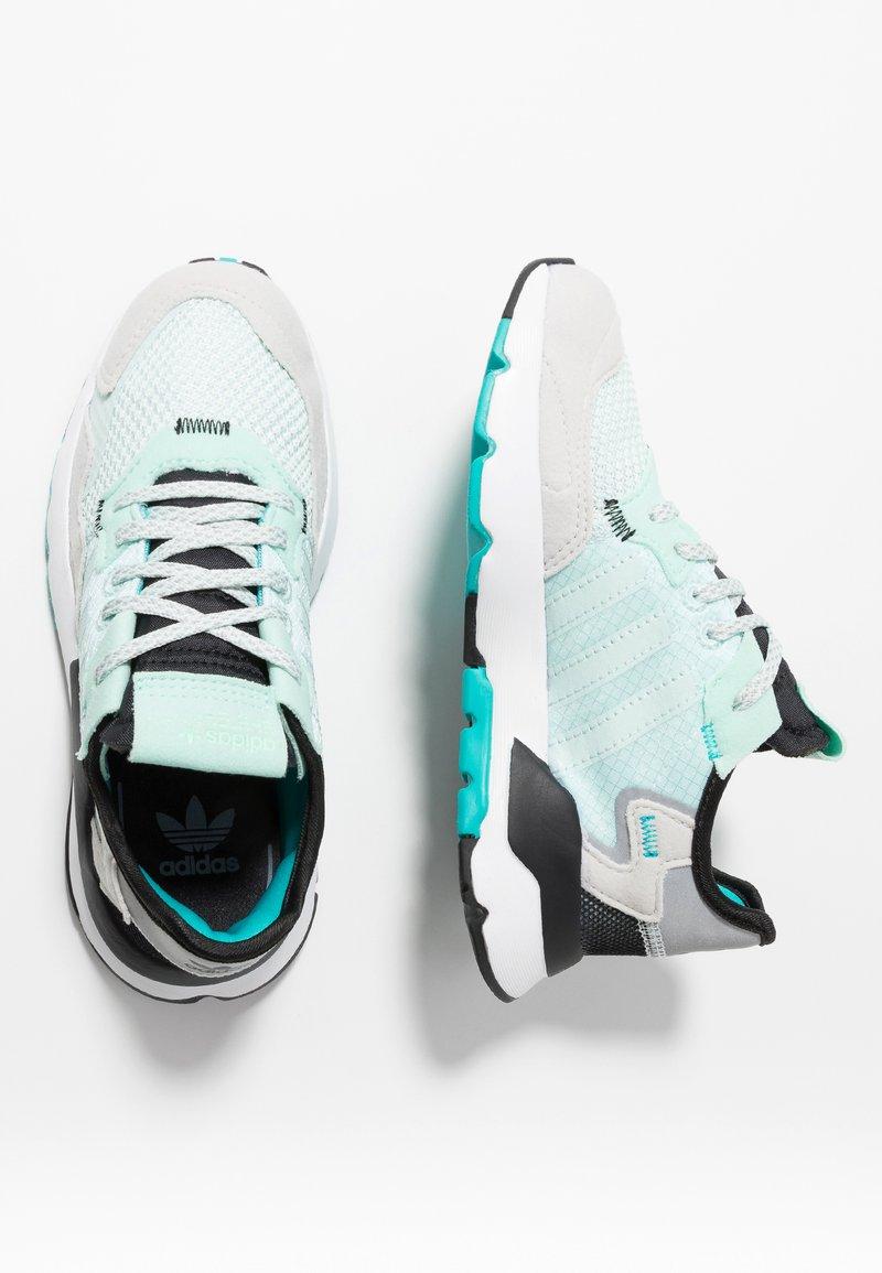 adidas Originals - NITE JOGGER - Baskets basses - ice mint/hi-res aqua