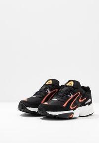 adidas Originals - YUNG-96 CHASM - Trainers - core black/semi coral - 3
