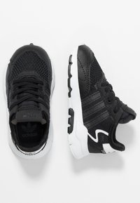 adidas Originals - NITE JOGGER - Slipper - core black/carbon - 0