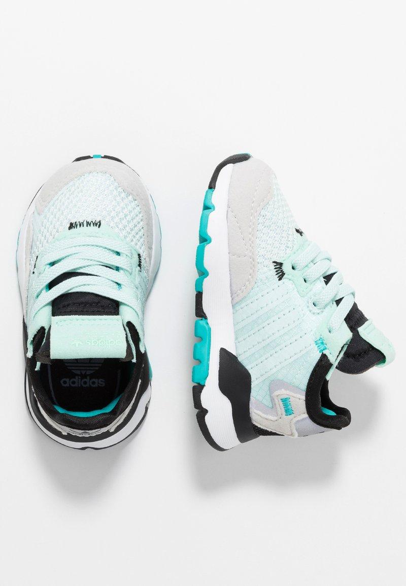 adidas Originals - NITE JOGGER - Scarpe senza lacci - ice mint/hi-res aqua